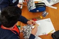 CreaNova viaja al mundo del collage a través de los alumnos y alumnas de Malala #3