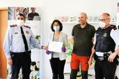 Reconeixement Mossos a CreaNova en la lluita contra el Covid-19 #1