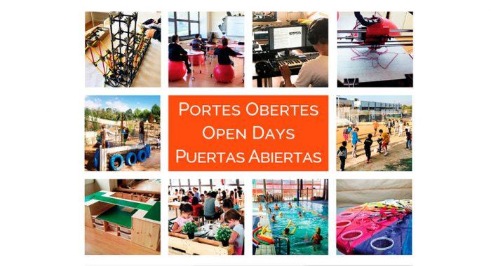 Portes Obertes · Open Days · Puertas Abiertas 2020 Col·legi CreaNova - Sant Cugat del Vallès - Barcelona