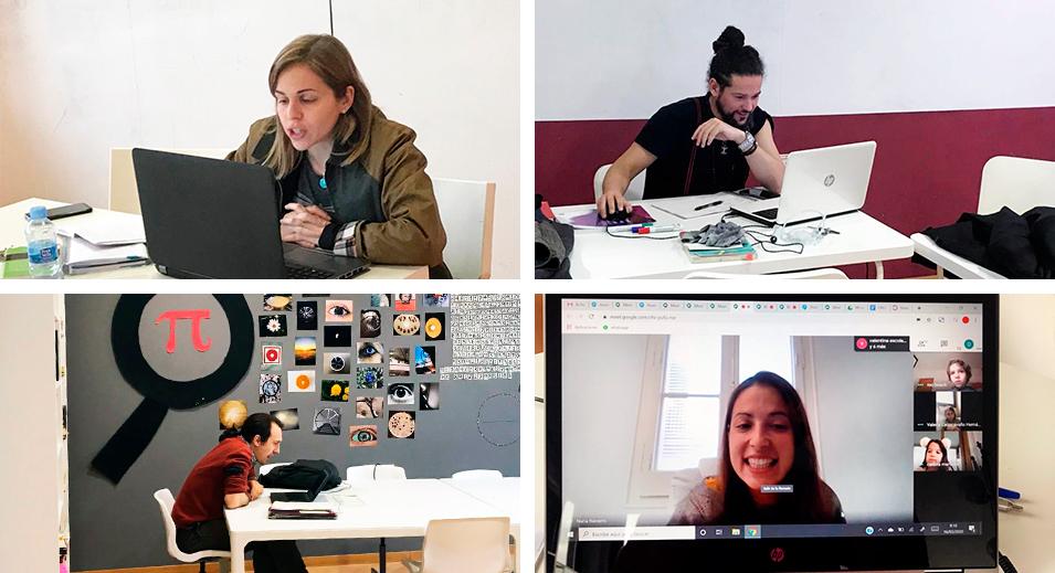 Home schooling - Covid19 - Col·legi CreaNova - Sant Cugat del Vallès - Barcelona