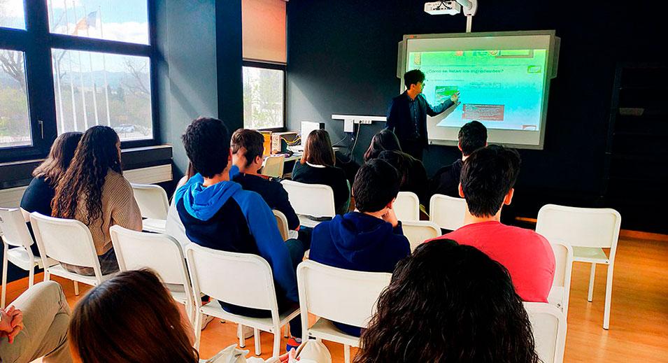 Taller Alimentació Conscient - Christian Didier - Col·legi CreaNova Learning by doing - Sant Cugat del Vallès (Barcelona)