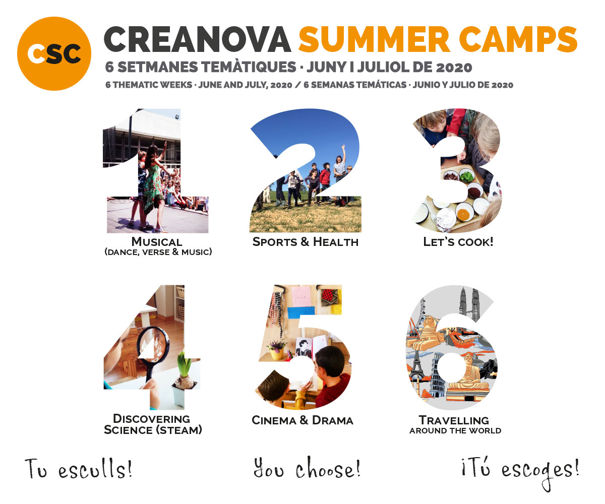 CreaNova Summer Camps 2020 - Col·legi CreaNova learning by Doing - Sant Cugat del Vallès (Barcelona)