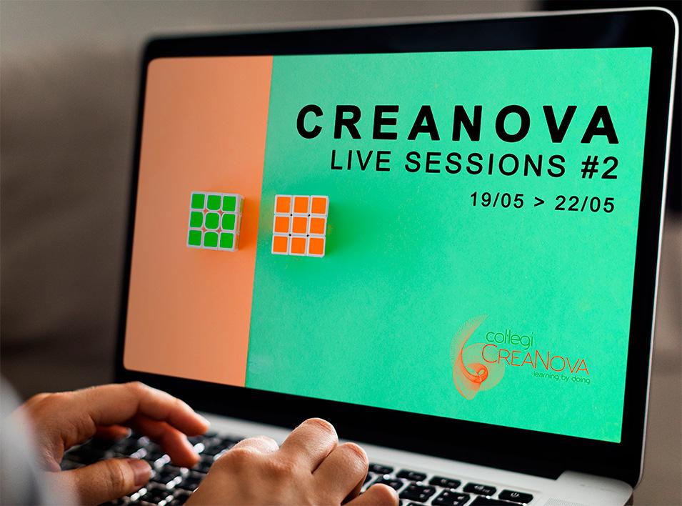 CreaNova Live Sessions #2 - Infantil, Primària, Secundària, Batxillerats - Col·legi CreaNova Learning by Doing - Sant Cugat