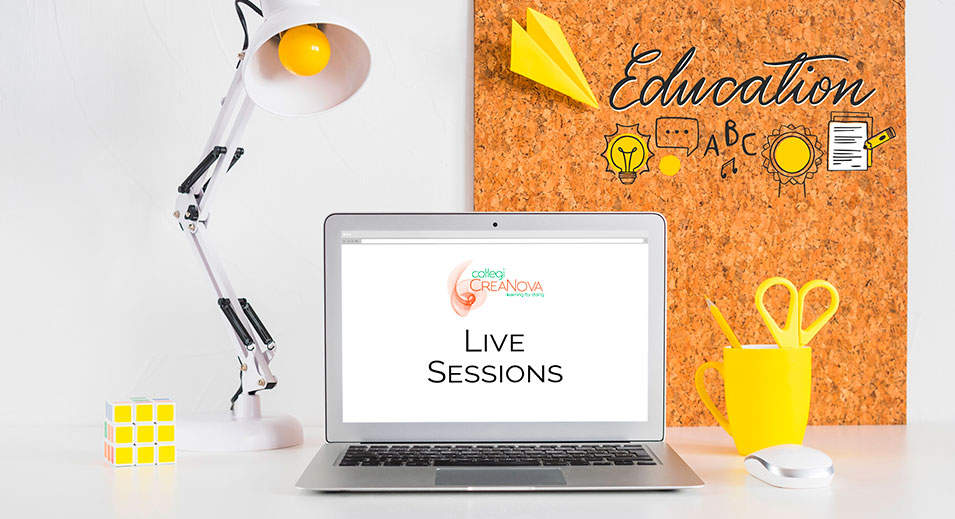 CreaNova Live Sessions 2020 - Infantil, Primària, Secundària - Col·legi CreaNova Learning by Doing - Sant Cugat