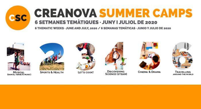 Sesión informativa online - CreaNova Summer Camps 2020 - Col·legi CreaNova learning by Doing - Sant Cugat del Vallès (Barcelona)