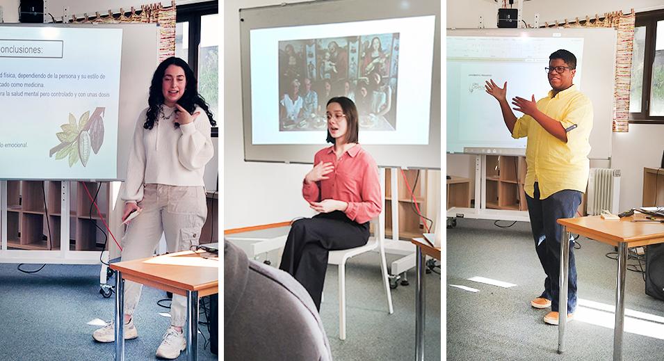 Plató preparat per al Batxillerat - Col·legi CreaNova Learning by Doing - Sant Cugat del Vallès - Barcelona