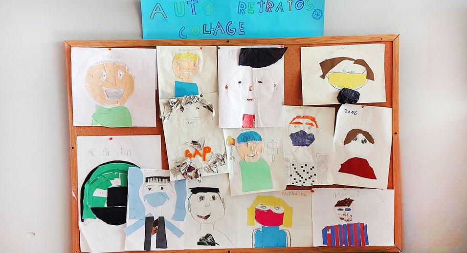 CreaNova viaja al mundo del collage a través de los alumnos y alumnas de Malala - Col·legi CreaNova - learning by doing - Sant Cugat del Vallès - Barcelona