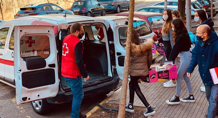 C de CreaNova y C de campañas solidarias - 2021 - Col·legi CreaNova - learning by doing - Sant Cugat del Vallès - Barcelona