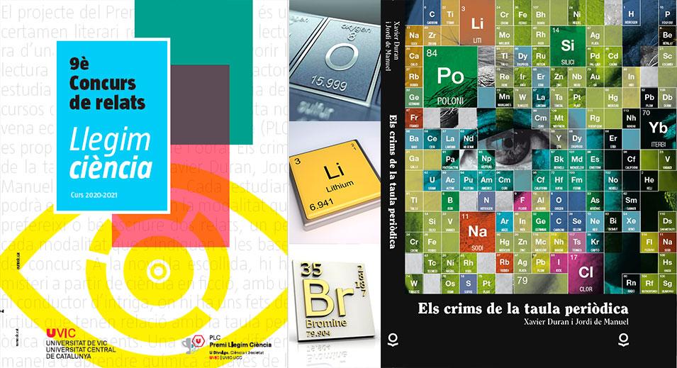 CreaNova al Premi Llegim Ciència de la Universitat de Vic - 2021 - Col·legi CreaNova - learning by doing - Sant Cugat del Vallès - Barcelona