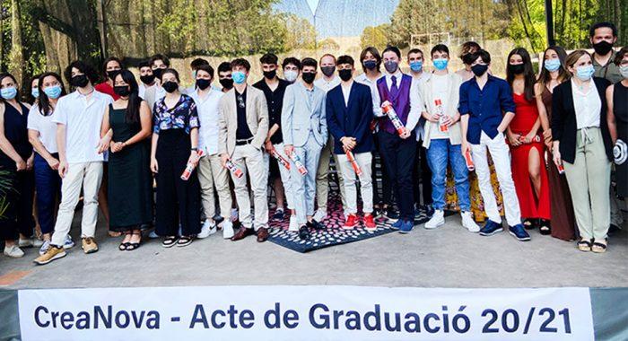 V Promoció 4t ESO CreaNova - 2021 - Col·legi CreaNova Sant Cugat del Vallès (Barcelona)